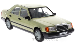 Mercedes 200 D W124 1984 light green metallic 1:18 MCG Modelcar Group