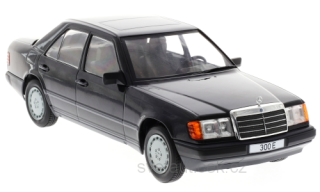 Mercedes 300 E W124 1984 black metallic 1:18 MCG Modelcar Group