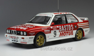 BMW E 30 M3 #9 F.Chatriot/M.Perin tour de Corse 1988 1:18 Ixo Models