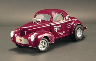 Gasser Jr. Thompson & Poole 1941 burgundy 1:18 Acme Diecast