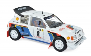 Peugeot 205 T16 #8 Saby/Fauchille Rallye Monte Carlo 1986 1:18 Norev