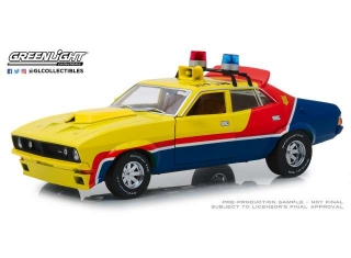 XB Ford Falcon V8 Police Interceptor 1973 1:18 Greenlight