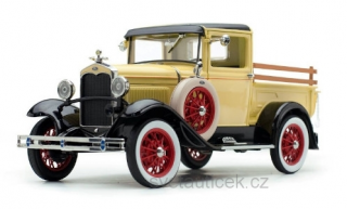 Ford Model A Pick-Up 1931 light yellow/black 1:18 Sun Star