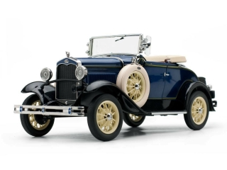 Ford Model A Roadster 1931 blue 1:18 Sun Star