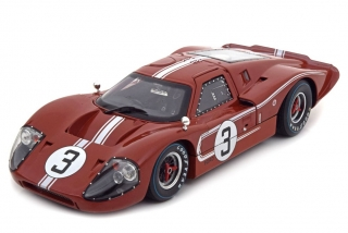 Ford GT40 MKIV 24h LeMans 1967 1:18 Shelby Collectibles