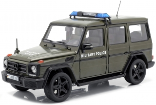 Mercedes-Benz G-Classe *Military Police* 2015 army green 1:18 iScale