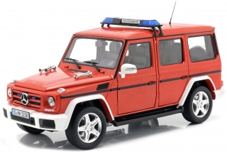 Mercedes-Benz G-Classe *Fire Department* 2015 red 1:18 iScale