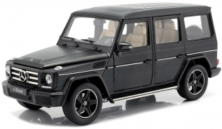 Mercedes-Benz G-Classe 2015 nightblack magno 1:18 iScale