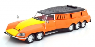 Citroen DS PLR Break Michelin Mille Pattes 1972 orange/yellow/black 1:18 CMR