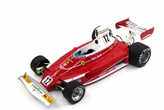 Ferrari F1 312T #12 Niki Lauda World Champion 1975 1:18 GP Replicas