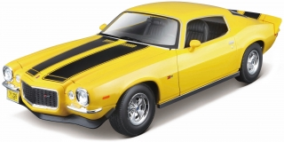 Chevrolet Camaro Z/28 1971 yellow/black 1:18 Maisto