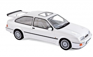Ford Sierra Cosworth 1986 white 1:18 Norev