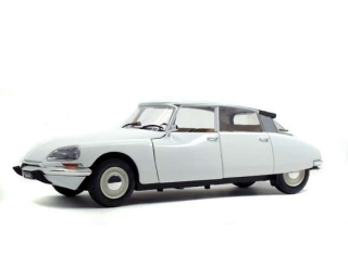 Citroen DS Special 1972 white 1:18 Solido
