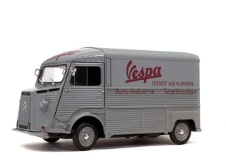 Citroen Type HY Vespa 1969 grey 1:18 Solido