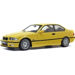 BMW E36 Coupe M3 1992 yellow 1:18 Solido
