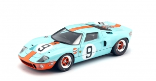 Ford GT 40 MK I Winner Le Mans 1968 1:18 Solido