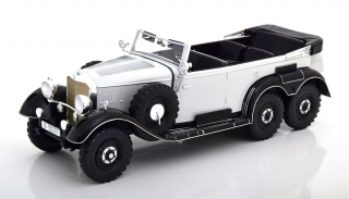 Mercedes G4 W31 1938 light grey/black 1:18 MCG Modelcar Group
