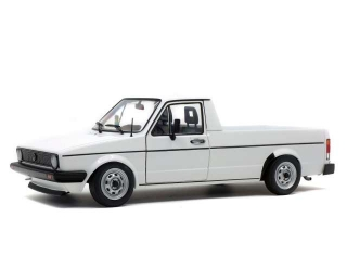 Volkswagen Caddy 1982 white 1:18 Solido