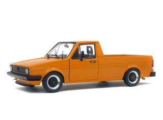 Volkswagen Caddy 1982 orange metallic 1:18 Solido