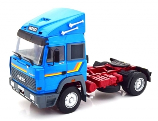 Iveco Fiat Turbostar Tractor Truck 2-Assi 1988 blue 1:18 Road Kings