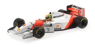 McLaren Ford MP4/8 Ayrton Senna Winner European GP 1993 1:18 Minichamps