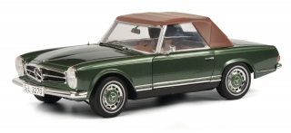 Mercedes-Benz 280 SL green 1:18 Schuco