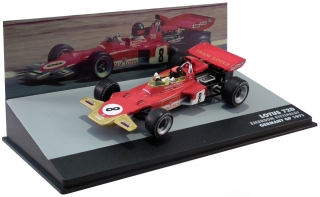 Lotus 72D Ford #8 Emerson Fittipaldi Germany GP 1971 1:43 Altaya