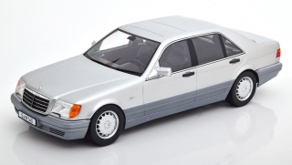 Mercedes-Benz S500 (W140) 1994 silver 1:18 iScale