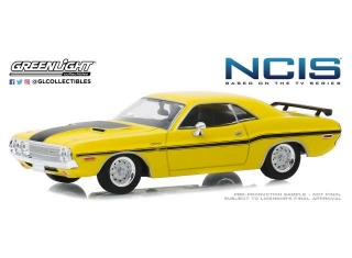 Dodge Challenger R/T *NCIS 2003 TV Series* 1970 yellow 1:43 Greenlight