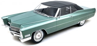 Cadillac Deville Softtop light green 1:18 KK Scale