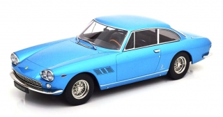 Ferrari 330 GT 2+2 1964 light blue metallic 1:18 KK Scale