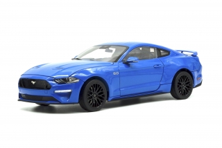 Ford Mustang 2019 Kona Blue 1:18 Diecast Masters