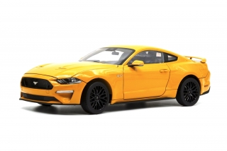 Ford Mustang 2019 Orange Fury 1:18 Diecast Masters