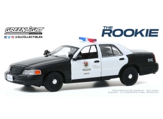 Ford Crown Victoria Police Interceptor Los Angeles Police *The Rookie 2018* 2008 1:43 Greenlight