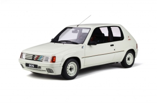Peugeot 205 Rallye white 1:12 OttOmobile