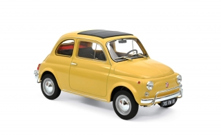 Fiat 500 L 1968 yellow 1:18 Norev