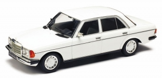 Mercedes 230E W123 1975 white 1:18 KK Scale