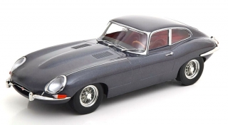 Jaguar E-Type Coupe MK1 LHD 1961 grey 1:18 KK Scale