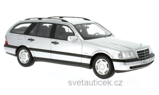 Mercedes C220 T-Modell (S202) 1996 silver 1:18 BoS Models