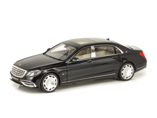 Mercedes-Maybach S 650 X222 2020 magnetic black 1:18 Norev