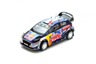 Ford Fiesta WRC #1 S.Ogier/J.Ingrassia 3rd Rally Great Britain 2017 1:43 Spark