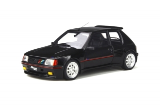 Peugeot 205 Dimma 1989 Noir 1:18 OttOmobile