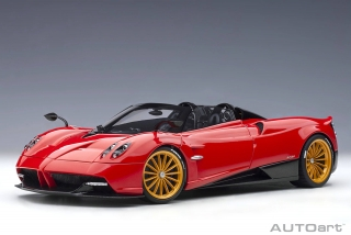 Pagani Huayra Roadster 2017 rosso monza/red 1:18 AUTOart