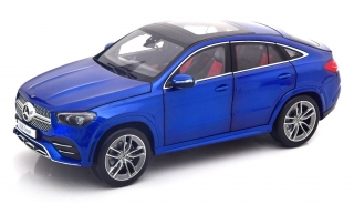 Mercedes-Benz GLE-Class Coupe C167 2020 brilliant blue 1:18 iScale