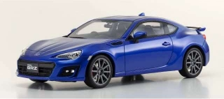 Subaru BRZ *resin Samurai series* 2017 blue 1:18 Kyosho