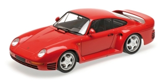Porsche 959 1987 red 1:18 Minichamps