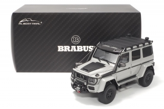 Brabus 550 Adventure Mercedes-Benz G500 4×4² grey 1:18 Almost Real