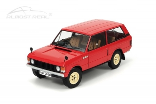 Range Rover Velar First Prototype 1969 red 1:18 Almost Real