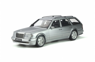 Mercedes-Benz S124 E36 AMG 1995 Brilliant Silver 1:18 OttOmobile
