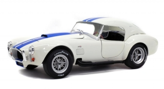 Shelby Cobra 247 MKII Coupe 1965 white/blue 1:18 Solido